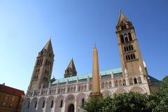 katedralny Pecs Obrazy Royalty Free