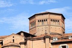 katedralny Piacenza Zdjęcia Royalty Free