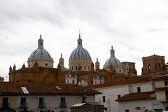 katedralny poczęcie Cuenca niepokalany Fotografia Royalty Free