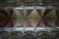 katedralny podsufitowy gothic Obrazy Royalty Free