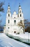 katedralny polotsk świętego sophia Obraz Royalty Free