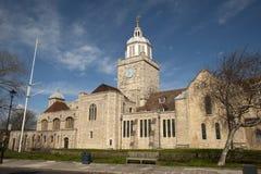 katedralny Portsmouth Obraz Royalty Free