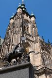 katedralny Prague st vitus Zdjęcie Royalty Free
