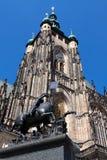 katedralny Prague st vitus Zdjęcia Stock