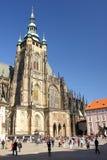 katedralny Prague st vitus Fotografia Royalty Free