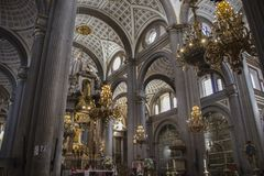 katedralny Puebla obraz stock