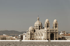 Katedralny Sainte Marie Katedralny de Marseille Fotografia Royalty Free