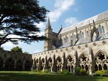 katedralny Salisbury zdjęcie stock
