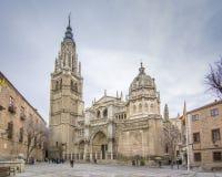 Katedralny Santa Maria de Toledo Obraz Royalty Free