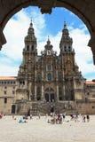 katedralny Santiago Fotografia Royalty Free