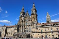 katedralny Santiago Zdjęcie Stock