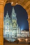 katedralny Santiago de compostela Zdjęcia Stock