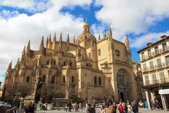 katedralny Segovia Fotografia Royalty Free