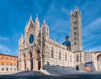 katedralny Siena Obraz Stock