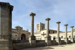 katedralny Spain Zamora Zdjęcia Royalty Free