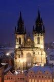 katedralny stary Prague Obrazy Stock