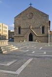 katedralny stary Rhodes Obrazy Stock