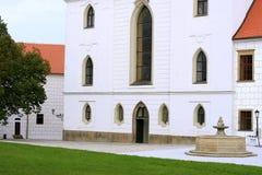 Katedralny Trebic obrazy stock
