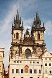 katedralny tyn Zdjęcie Stock