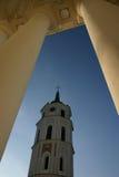 Katedralny Vilnius szczegół zdjęcie royalty free