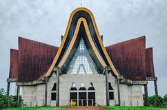Katedralny w budowie nazwany Catedral Diocesana Nossa Sen Zdjęcia Royalty Free