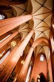 katedralny wewnętrzny majestatyczny obraz royalty free