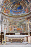 katedralny wewnętrzny spoleto Umbria obraz royalty free