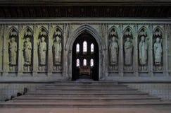 katedralny wewnętrzny Kent Rochester Zdjęcie Royalty Free