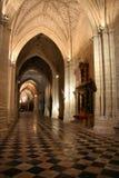 katedralny wewnętrzny Palencia Obrazy Royalty Free