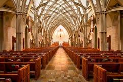 Katedralny wnętrze obrazy royalty free