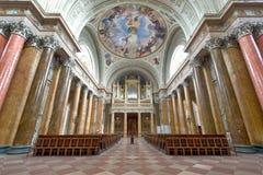 katedralny wnętrze Zdjęcia Royalty Free