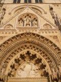 katedralny wrotny Zagreb Zdjęcie Stock