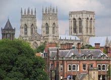 katedralny York minister Fotografia Royalty Free