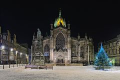 katedralnych Edinburgh giles wysoki kościół st Zdjęcie Stock