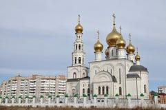 1824 katedralnych fabryk zakładał sposobów nevyansk właścicieli pyatiprestolny kamiennego transfiguraci yakovlev Zdjęcie Royalty Free