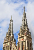 katedralnych katolickich kopuł Nicholas rzymski st zdjęcia royalty free