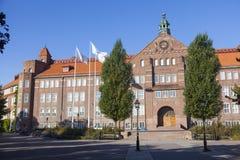 Katedralskolan in Linkoping, Sweden Stock Image