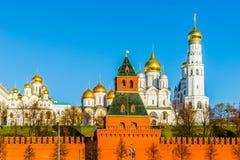 katedry Kremlin Moscow Obraz Royalty Free