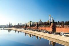 Katedry Moskwa Kremlin, Rosja Obraz Stock