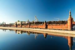Katedry Moskwa Kremlin, Rosja Zdjęcie Stock