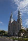 3 katedry paniusi notre Obrazy Royalty Free