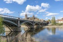 Katedry Salamanca Hiszpania Fotografia Stock