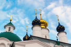 Katedry Spaso Yakovlevsky Dimitriev monaster w Rostov Veliky, Rosja Fotografia Stock