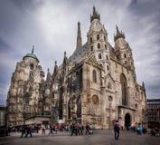 katedry st s Stephen Vienna Zdjęcia Royalty Free