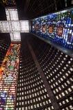 Katedry St. Sebastian Rio De Janeiro Brazylia Zdjęcie Royalty Free