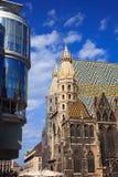 katedry st Stephan Vienna zdjęcie stock