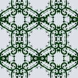 Kateidoskopic seamless background in green color royalty free stock photos
