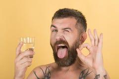 Kater und Durst lizenzfreie stockfotos