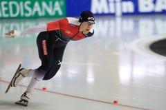 Katerina Erbanova - snelheid het schaatsen Stock Afbeeldingen