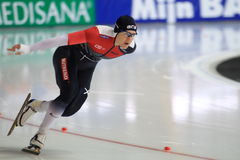 Katerina Erbanova - speed skating Stock Images